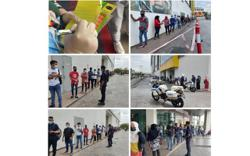 Cops: Overcrowding at Bandar Baru Bangi PPV caused by surge of walk-ins, all under control