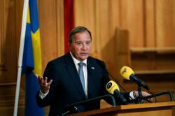 Swedish PM Lofven says to step down in September