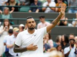 Tennis-Kyrgios pulls out of U.S. Open tune-up event with knee pain