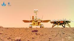 Rover treks 1km on Mars
