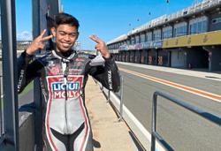 Adam thrilled beyond words to get Moto2 ride