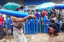 Chinese embassy donates oxygen concentrators to help Myanmar fight Covid