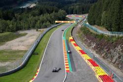 Motor racing-Formula One statistics for the Belgian Grand Prix