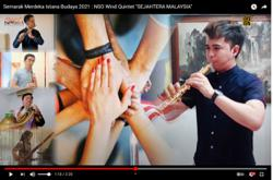 NSO wind quintet records heartfelt version of 'Sejahtera Malaysia'