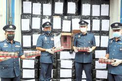 Customs seizes over nine million illegal ciggies at North Port