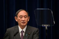 Japan's Suga faces challengers in ruling party leadership race