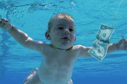 Nirvana sued by baby on Nevermind cover for child porn, exploitation