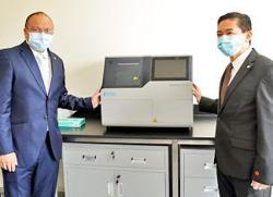 Brunei receives genome sequencing machine to help with Covid testing
