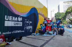 UEM Sunrise unveils nature-themed mural in KL