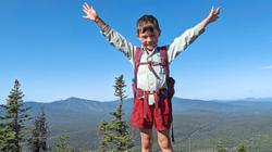 Imagination and Skittles helped this 5-year-old boy conquer Appalachian Trail