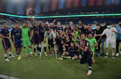 JDT lift their eighth consecutive Super League title in style