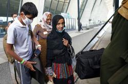 Dozens of unaccompanied Afghan children evacuated to the United States
