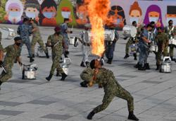'Fire dragon' to spice up virtual National Day parade