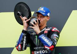 Motorcycling-Quartararo extends championship lead with win at Silverstone