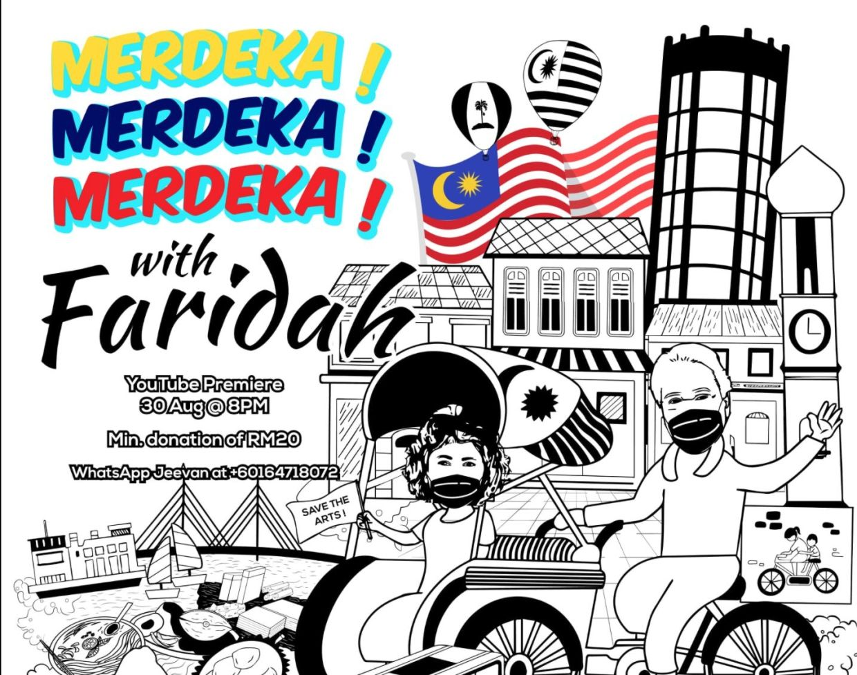 Catch this Merdeka edition variety show hosted by Datuk Faridah Merican. Photo: Handout
