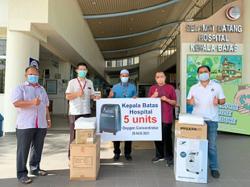 Life-saving equipment donated to hospital