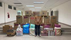 GOF seize contraband cigarettes worth over RM200,000, man arrested