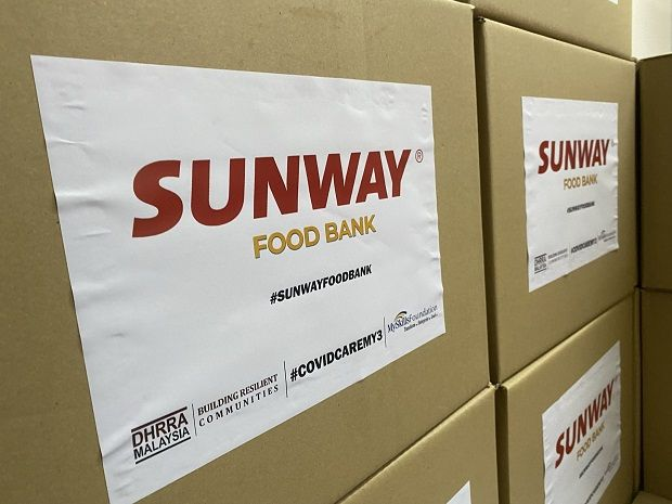 #SunwayforGood Food Bank drive will see over 25,000kg of food being distributed to some 2,100 B40 families across Selangor, Kuala Lumpur, Perak, Penang and Johor throughout this period until Malaysia Day.