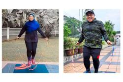 Skipping rope 31,857 times for National Day challenge