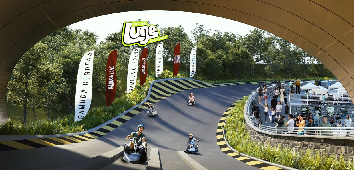 Gamuda Gardens had announced its partnership with Queenstown-based leisure operator Skyline Enterprise to develop an upcoming attraction, which includes a luge activity park.