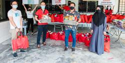 Charity initiative for afflicted families