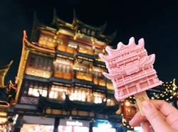 Ice creams featuring Shanghai landmarks sell like hotcakes