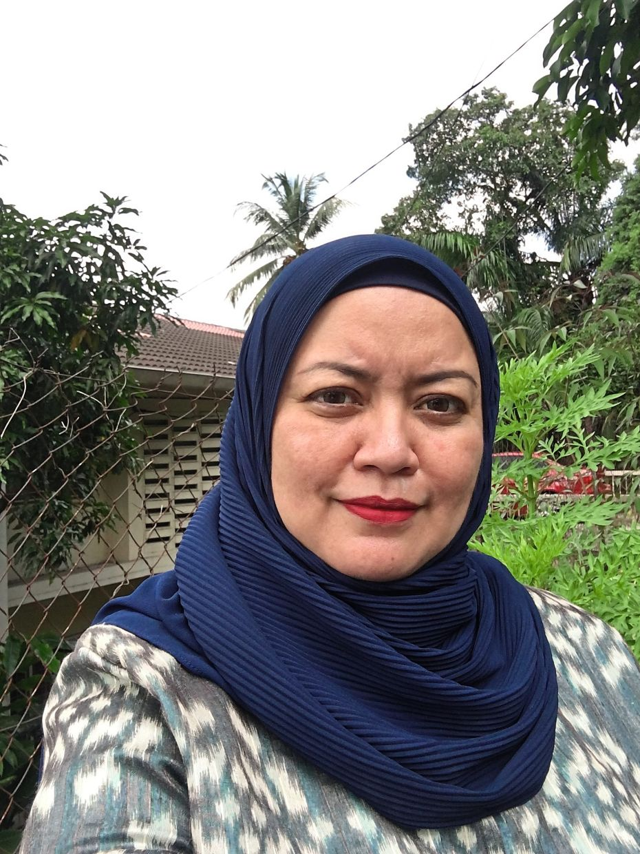 Hayati Ismail has always had a heart for charity.