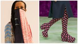 From scarf masks to platform boots, being 'extra' is a big accessories trend