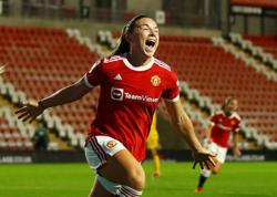 Soccer - Manchester United kick off Women's Super League with win over Reading