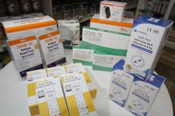 KJ: Self-test kits' ceiling price decision is final