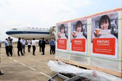 Cambodia receives an additional 2.5 million doses of China's Sinovac Covid-19 vaccines