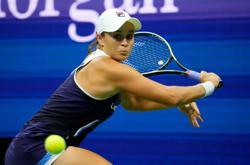 Tennis-American Rogers defeats number one Barty in shock U.S. Open upset