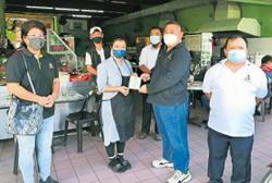 'Shop at premises with Sibu council vaccination certificates'