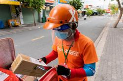 E-commerce platforms resume delivery in Ho Chi Minh as ban is lifted in red zones