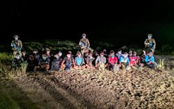 Infantry brigade stops 28 illegals from sneaking into country near Bio-Desaru food valley