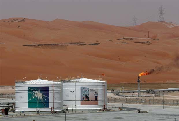 Oil price falls after Saudi price cuts