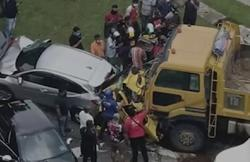 Cops remand lorry driver that caused a six-vehicle pile-up on Jalan Ipoh