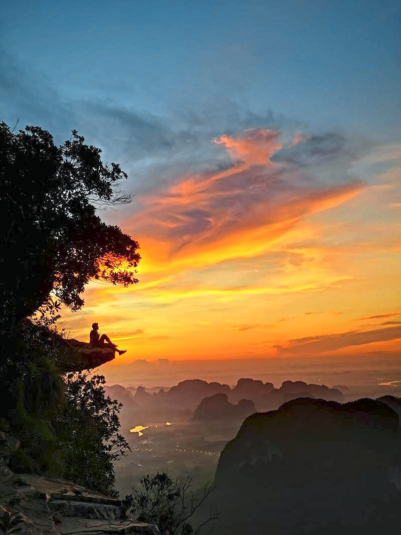 When in Krabi, try hiking up the Dragon Crest Hill for a spectacular view of the island. —  Banyan Tree Krabi