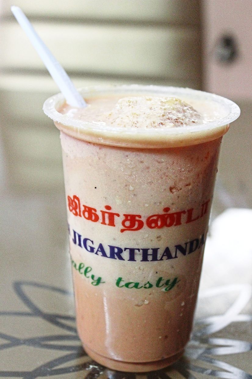 Jigarthanda is a sweet drink you can find in Madurai and its neighbouring districts. — KARTY