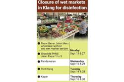 Detailed cleaning set for wet markets