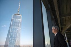 'Freedom Tower', the skyscraper symbolising New York's resilience