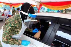Covid-19: Armed Forces has administered almost 45,000 vaccines at drive-throughs