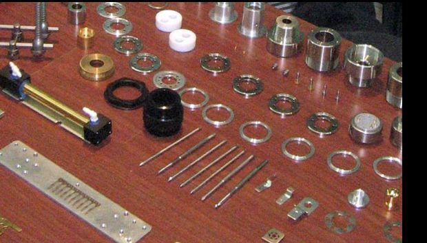 Hard disk drive components produced by Dufu Technology.