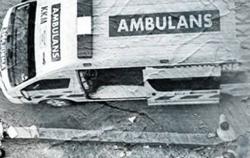 Medic killed in freak ambulance accident