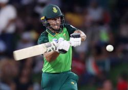 Cricket-South Africa pick three spinners but no Malan for T20 World Cup