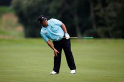 Golf-Aphibarnrat sets pace at Wentworth as Ryder Cup hopefuls begin quest