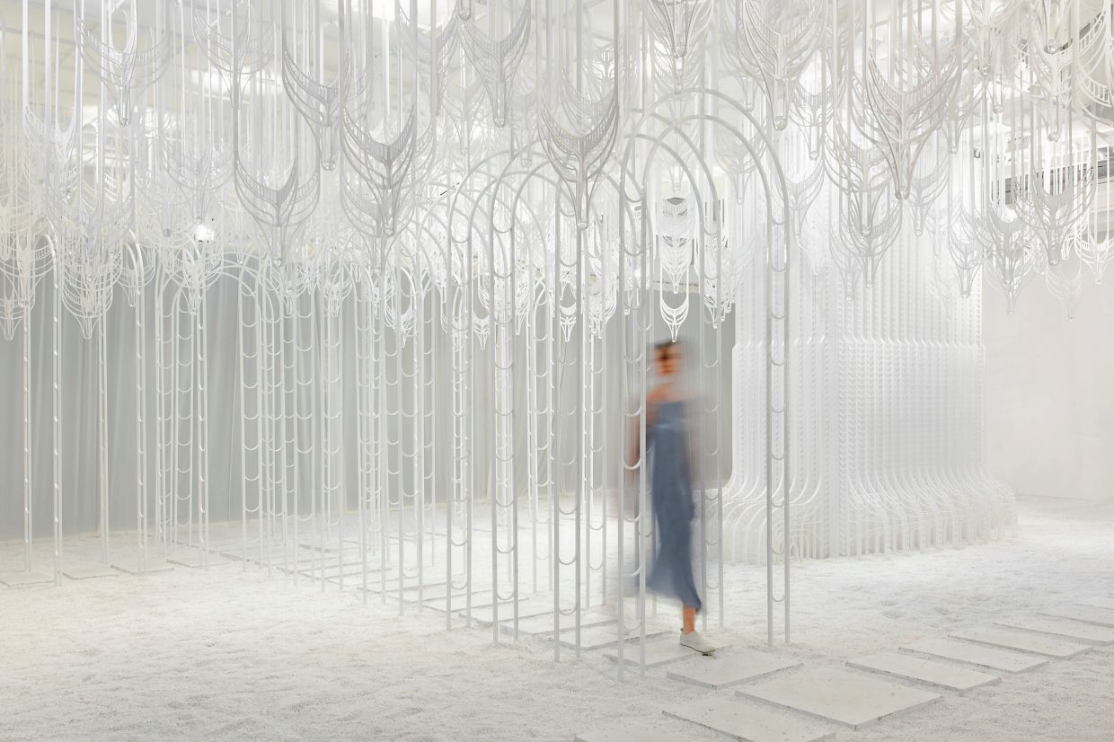 The Eden installation project inspired judges with its surreal atmosphere and intricate details.