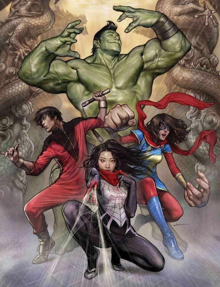 Greg Pak brought together a group of Asian heroes called The Protectors, with Shang-Chi front and centre.