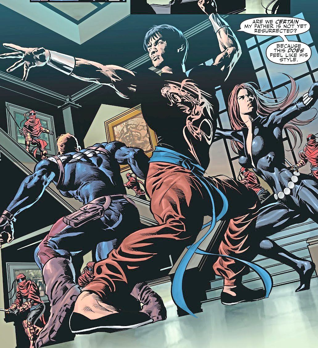 Brubaker's 'Secret Avengers' series rehabilitates Shang-Chi and the family he's ashamed to be connected to.