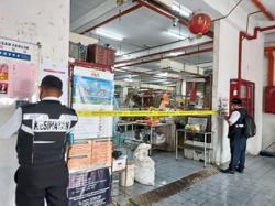 Market and food complex ordered to close